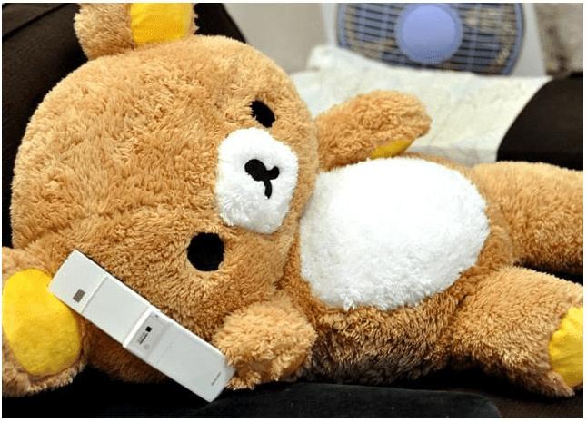 rilakkuma-super-fuzzy-plush-toy-with-phone
