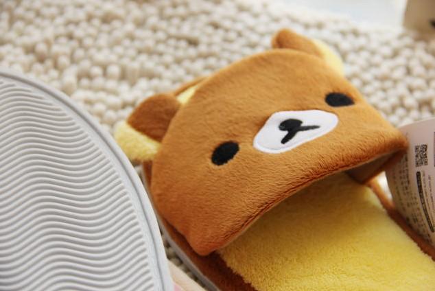 rilakkuma indoor shoes slippers sandals 2