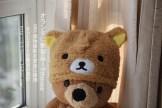 rilakkuma plush hat bear