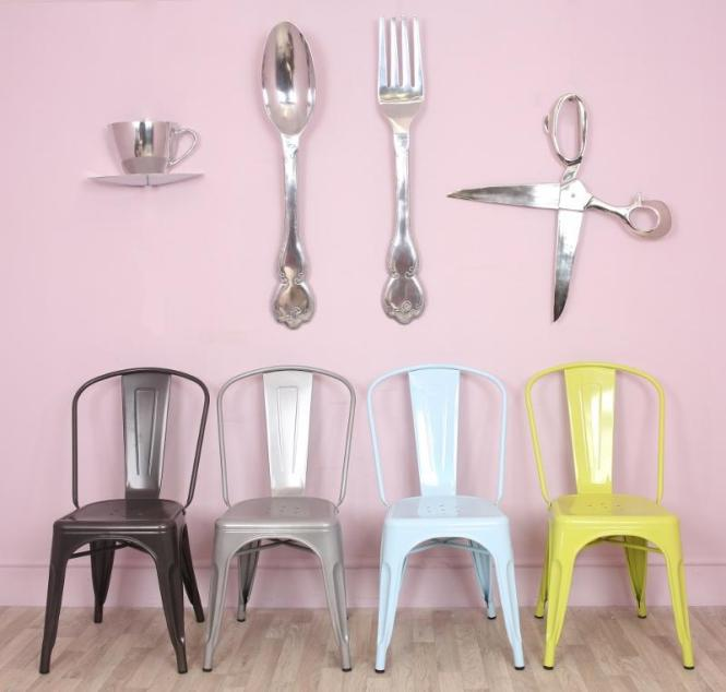 Image Of Large Fork And Spoon Wall Decor Gallery