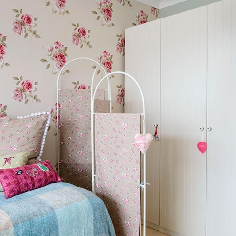 10 Beautiful Wallpaper Designs For Girls Bedroom Rilane