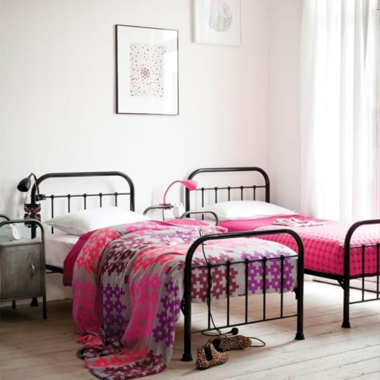 15 Twin Girl Bedroom Ideas to Inspire you - Rilane on Teenage:m5Lo5Qnshca= Room Ideas  id=91166