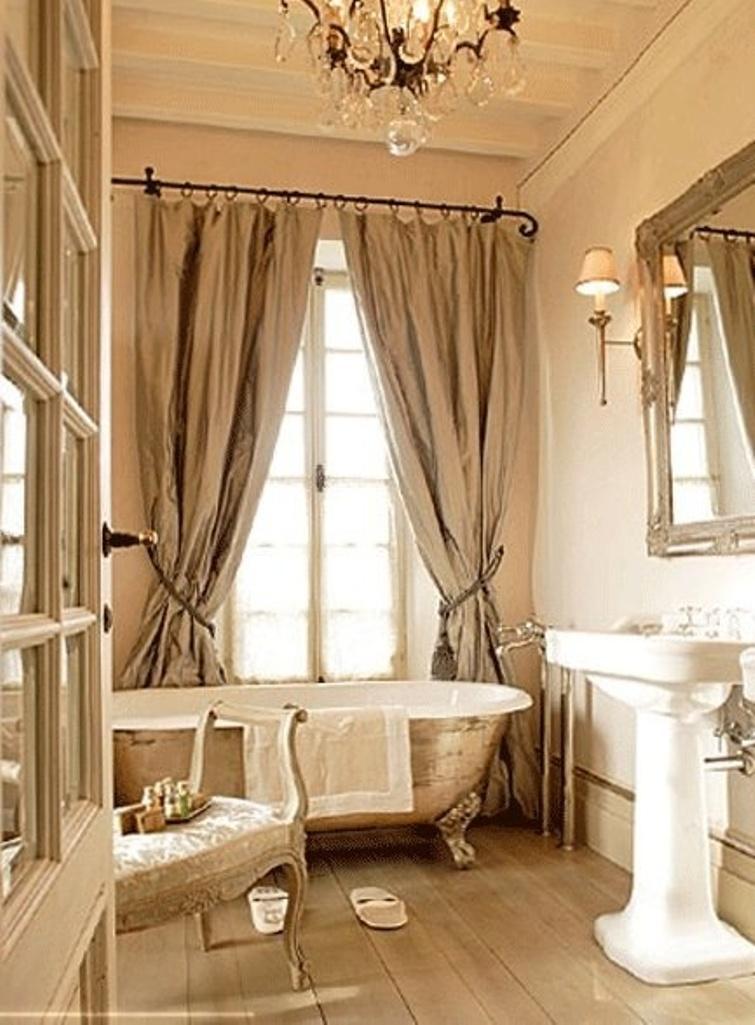 15 Charming French Country Bathroom Ideas - Rilane on Rural Bathroom  id=93767
