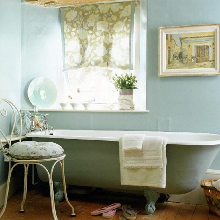 15 Charming French Country Bathroom Ideas - Rilane on Rural Bathroom  id=77112