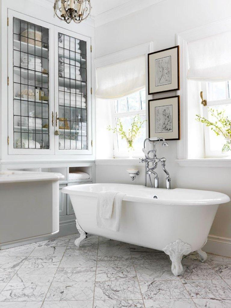 15 Charming French Country Bathroom Ideas - Rilane on Rural Bathroom  id=63211