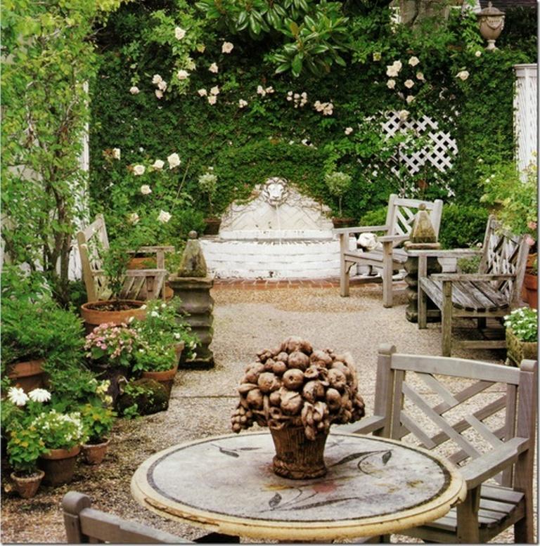 14 Romantic Backyard Patio Design Ideas - Rilane on Romantic Backyard Ideas id=99822