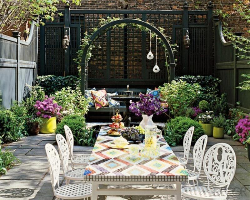 14 Romantic Backyard Patio Design Ideas - Rilane on Romantic Patio Ideas id=75597