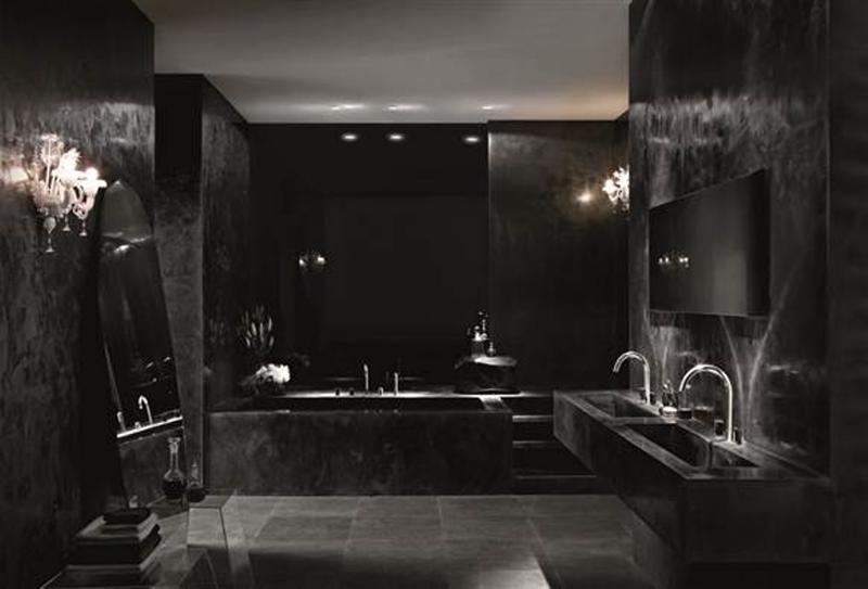 20 Bold Black Bathroom Design Ideas Rilane