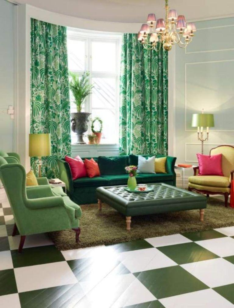 15 Lively and Colorful Curtain Ideas for the Living Room ... on Living Room:5J0Grrq-Soy= Curtains Design  id=31992