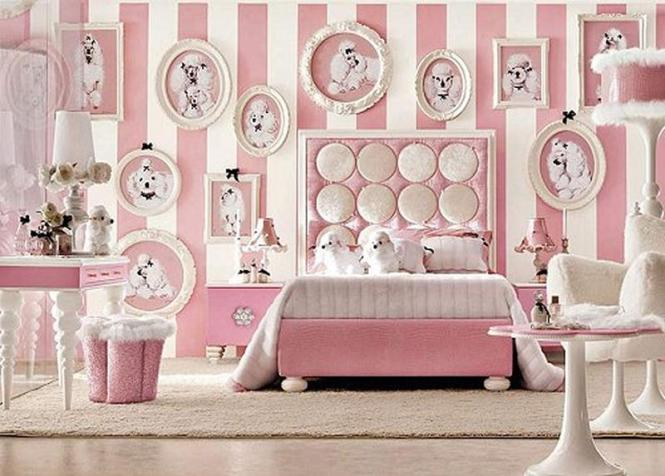 Bedroom Design Cute Paris Theme Picture For Themed