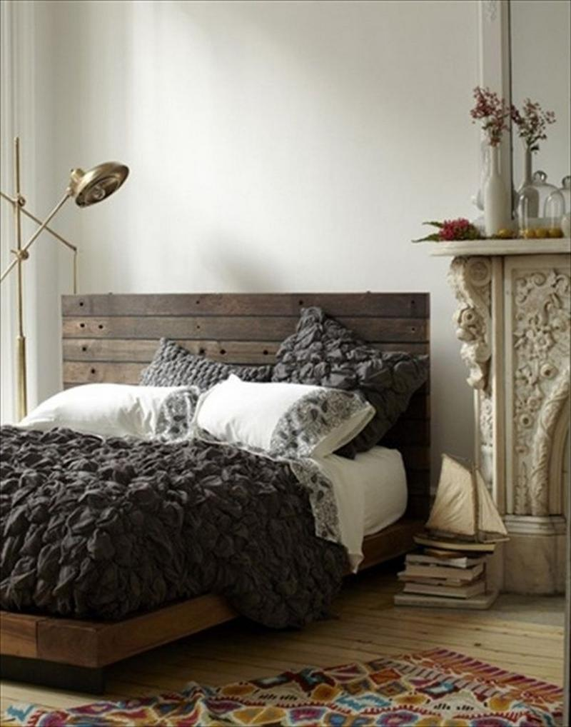 10 Creative Pallet Bed Design Ideas - Rilane on Bedroom Pallet Ideas  id=16828