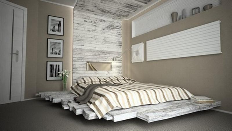 10 Creative Pallet Bed Design Ideas - Rilane on Pallet Room Ideas  id=32491