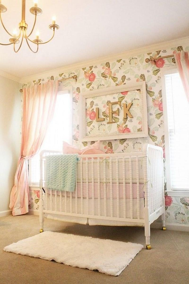 16 Adorable Baby Girl's Nursery Ideas - Rilane on Beautiful Rooms For Girls  id=51318