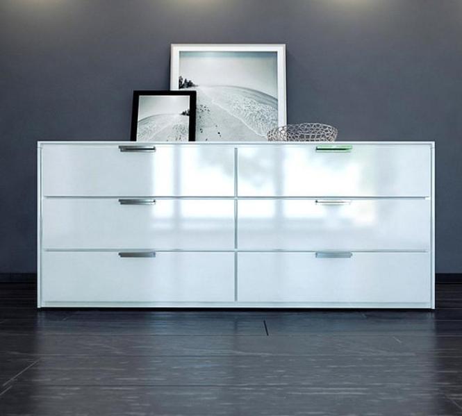 White Glossy Bedroom Dresser Image Source All Modern