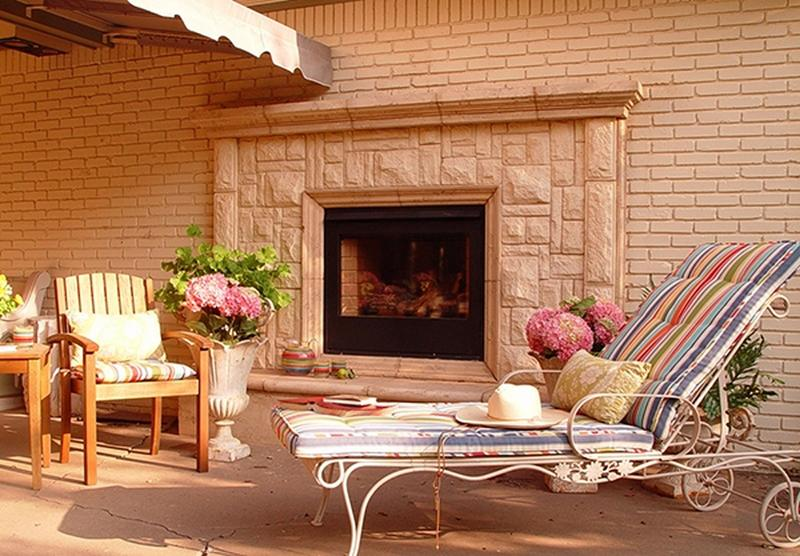 10 Amazing Outdoor Stone Fireplace Ideas to Inspire - Rilane on Amazing Outdoor Fireplaces id=14077