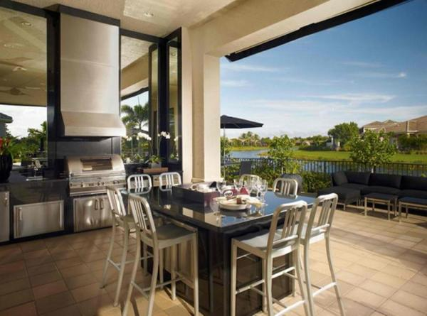 outdoor patio kitchen design idea 10 Beautiful Outdoor Kitchen Ideas - Rilane