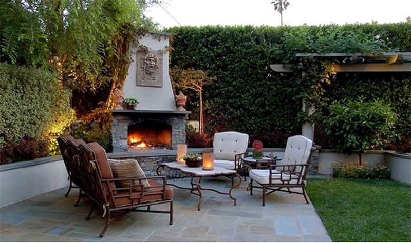10 Amazing Outdoor Stone Fireplace Ideas to Inspire - Rilane on Amazing Outdoor Fireplaces  id=94967
