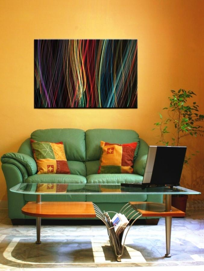 15 Solid Color Living Rooms with Wall Paintings - Rilane on Room Painting id=37861