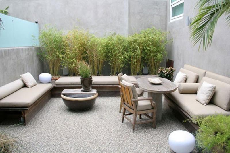 10 Contemporary Backyard Patio Designs - Rilane on Modern Back Patio id=17757