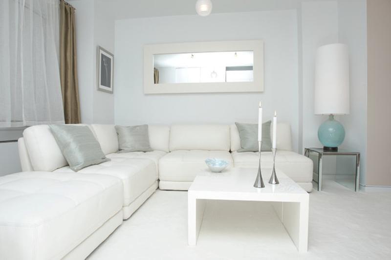 white valances for living room