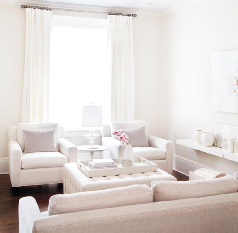 white rustic living room ideas