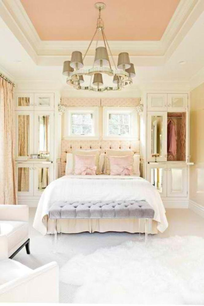 Elegant Pastel Bedroom