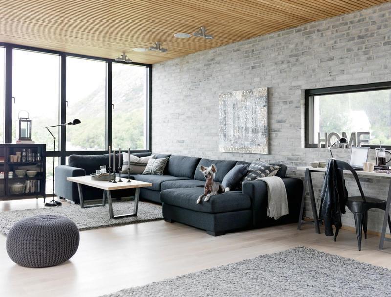 rustic industrial living room furniture