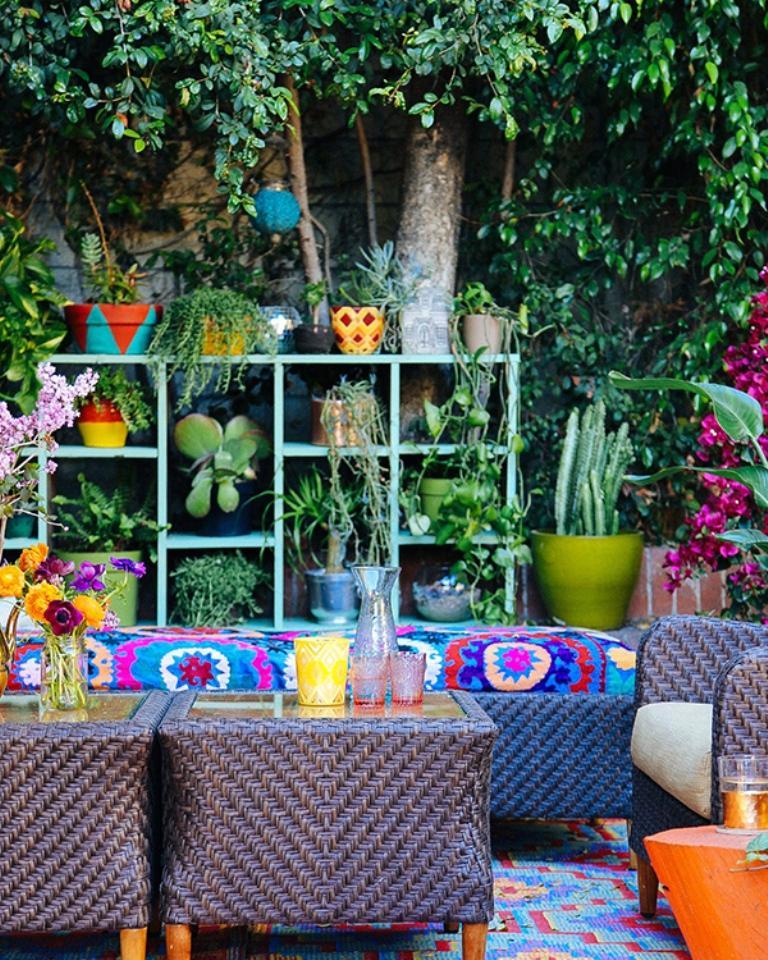 10 Whimsical Bohemian Patio Ideas - Rilane on Whimsical Backyard Ideas id=82584