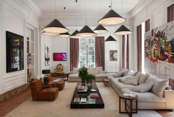 Deco Living Room classy art deco living room. milord trend art deco maisons du