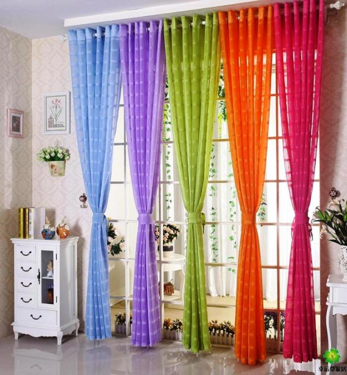 15 Delightful Sheer Curtain Designs for the Living Room   Rilane 15 Delightful Sheer Curtain Designs for the Living Room