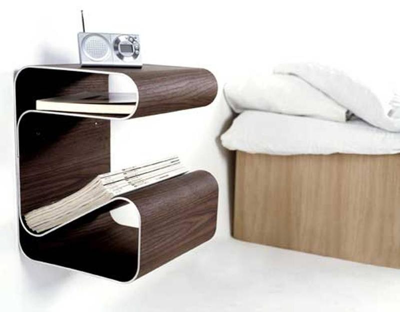 10 super chic floating bedside table designs for the bedroom - rilane