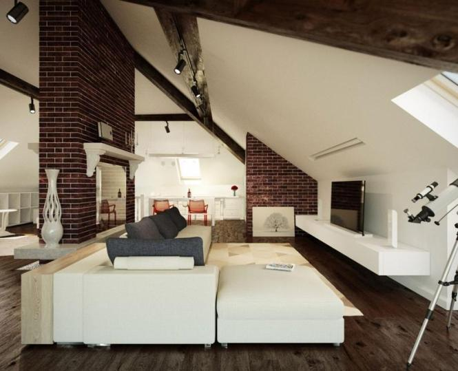 modern house design with attic : brightchat.co