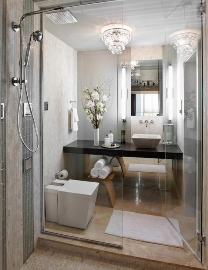 15 Stylish and Cozy Small Bathroom Designs - Rilane on Small Space:t5Ts6Ke0384= Small Bathroom Ideas  id=95997