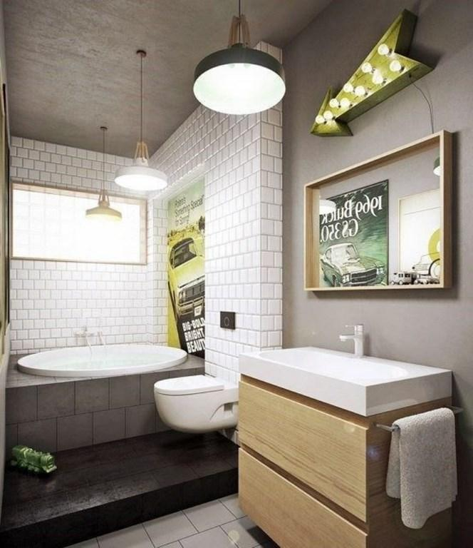 Subway Tiles in 20 Contemporary Bathroom Design Ideas - Rilane on Bathroom Ideas Subway Tile  id=30465