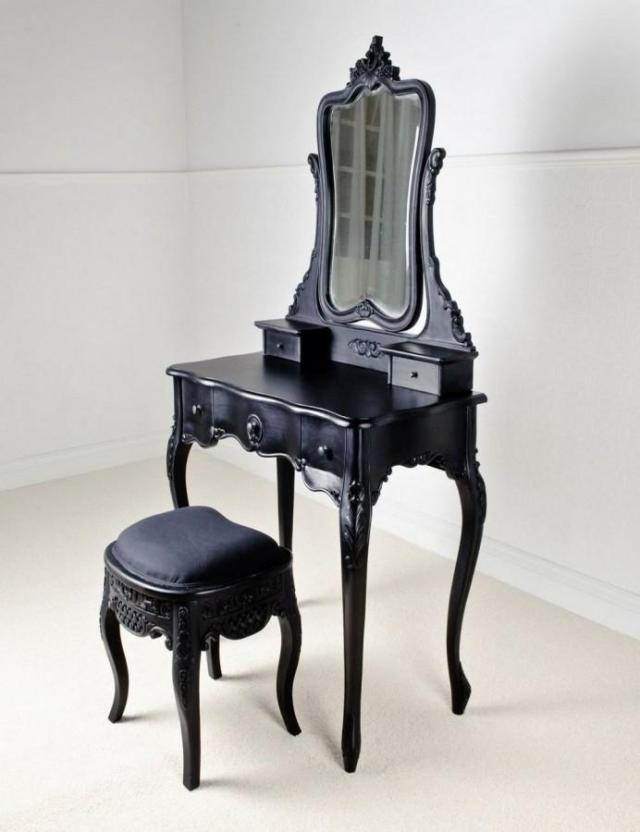 10 Bedroom Vanities In Modern Black Shade - Rilane