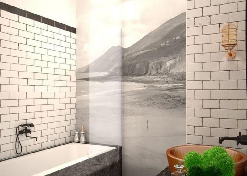 Subway Tiles in 20 Contemporary Bathroom Design Ideas - Rilane on Bathroom Ideas Subway Tile  id=99583