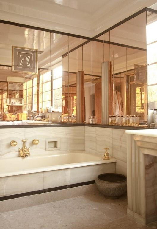 small art deco bathroom ideas