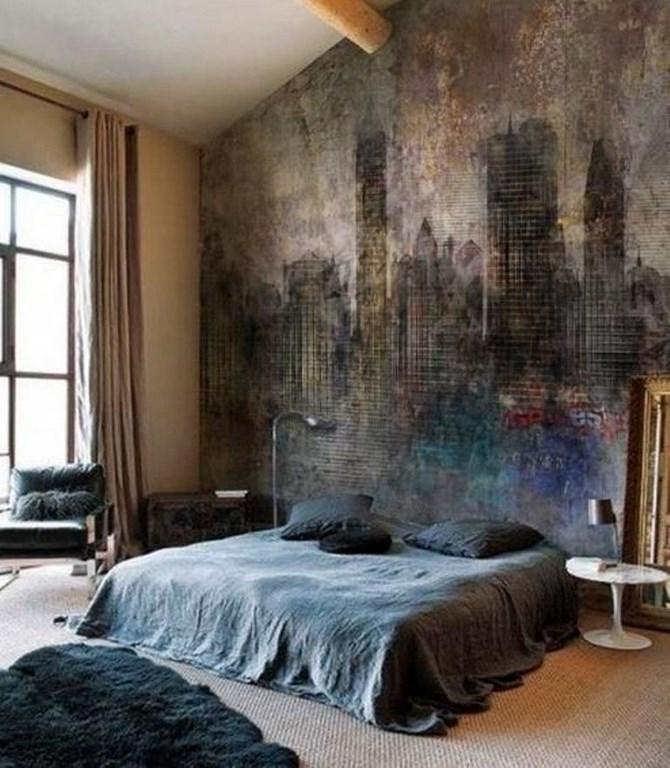 Bedroom Wall Murals in 25 Aesthetic Bedroom Designs - Rilane on Cool Bedroom  id=68756