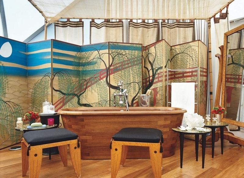 art nouveau bathroom design