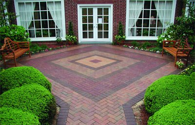 How To Pick The Best Pavers For Your Patio - RI Landscaper ... on Brick Paver Patio Designs  id=42133