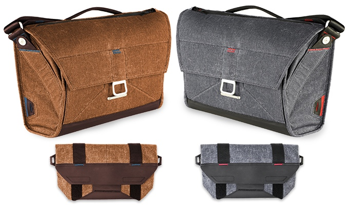charcoal or tan everyday messgner ultimate bag 6