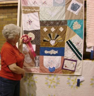 Sarah and Directors Choice- Home Arts Quilt Show