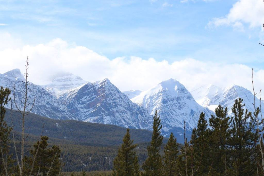 The beautiful Rocky Mountains of Jasper National Park
