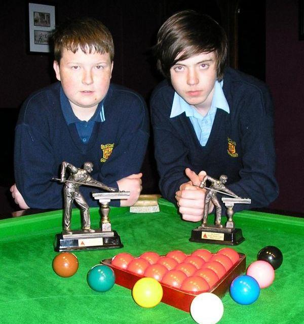 KILDARE JUNIOR SNOOKER LEAGUES 2012