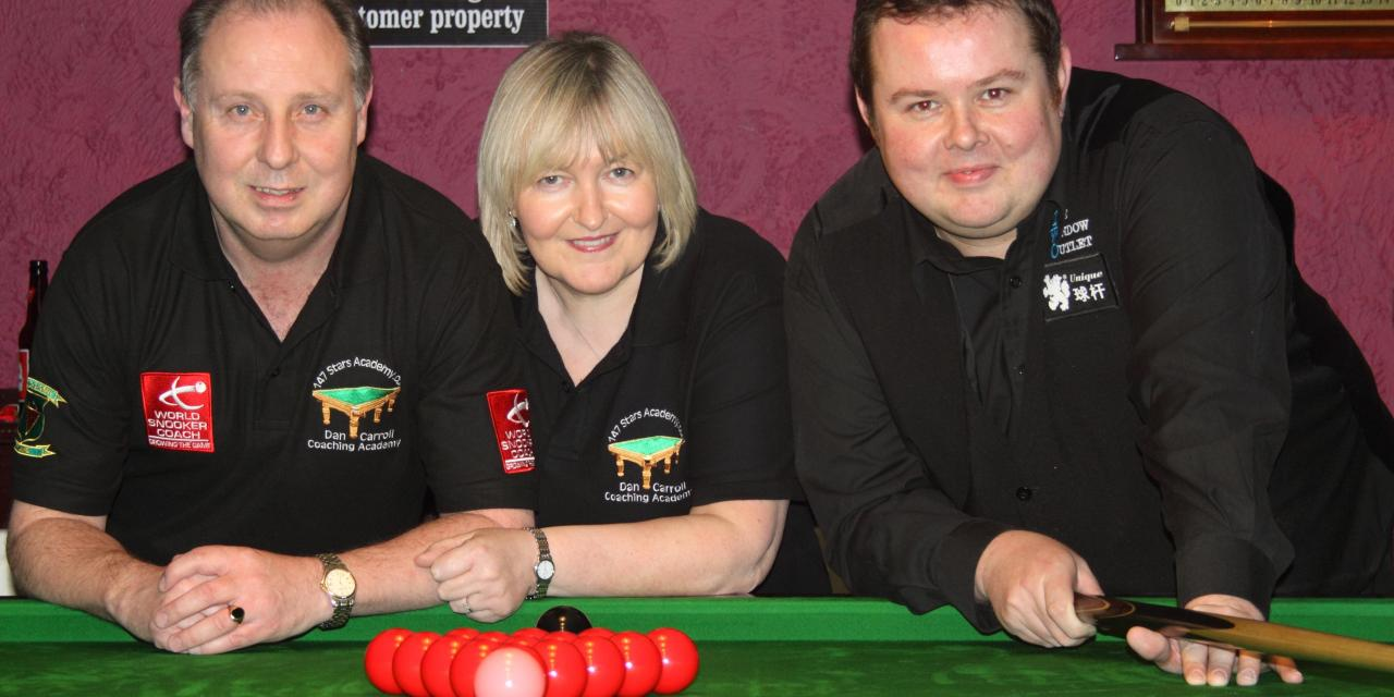 Stephen Lee Exhibition at Joeys Snooker Club Dublin