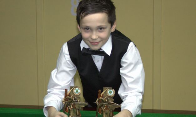 Joe La Cumbre from Portarlington takes both the U/12 & U/13 Stars Titles at the Ivy Rooms Carlow 2014