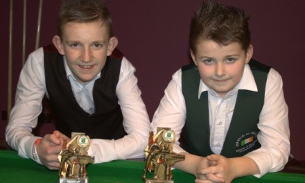 33rd U/15 Stars of the Future at Joeys Snooker Club, Dublin 2014