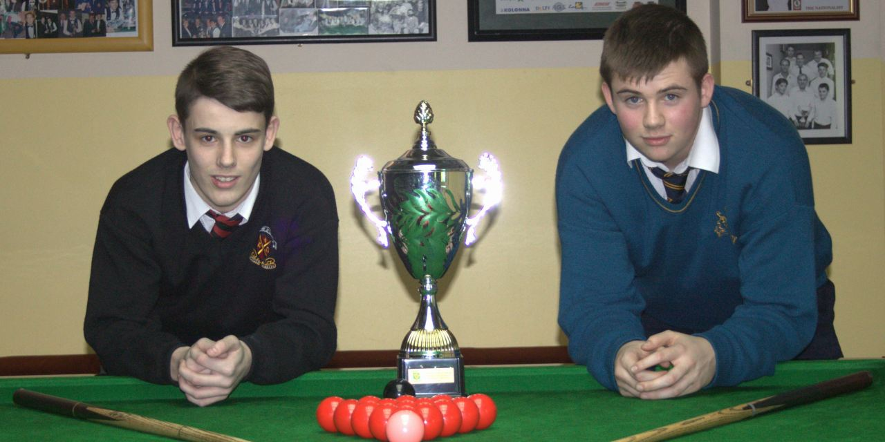 U/16 National School & College Snooker Championship at the Ivy Rooms Carlow