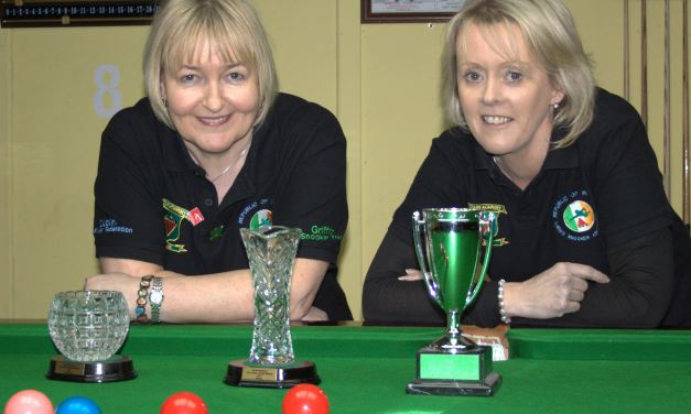 Bryan takes Ladies Leinster Masters 2015 at the Ivy Rooms Carlow
