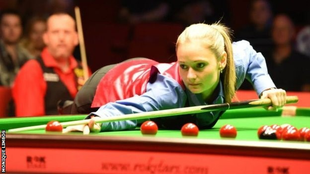 Reanne Evans into World Snooker Championships in Sheffield